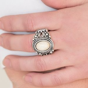 Coyote Canyon White Ring